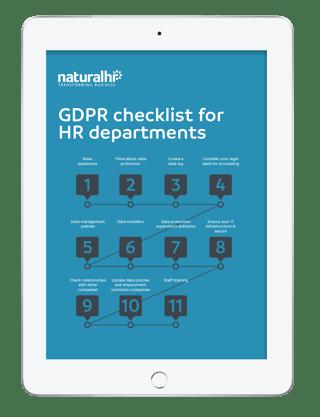 GDPR HR checklist